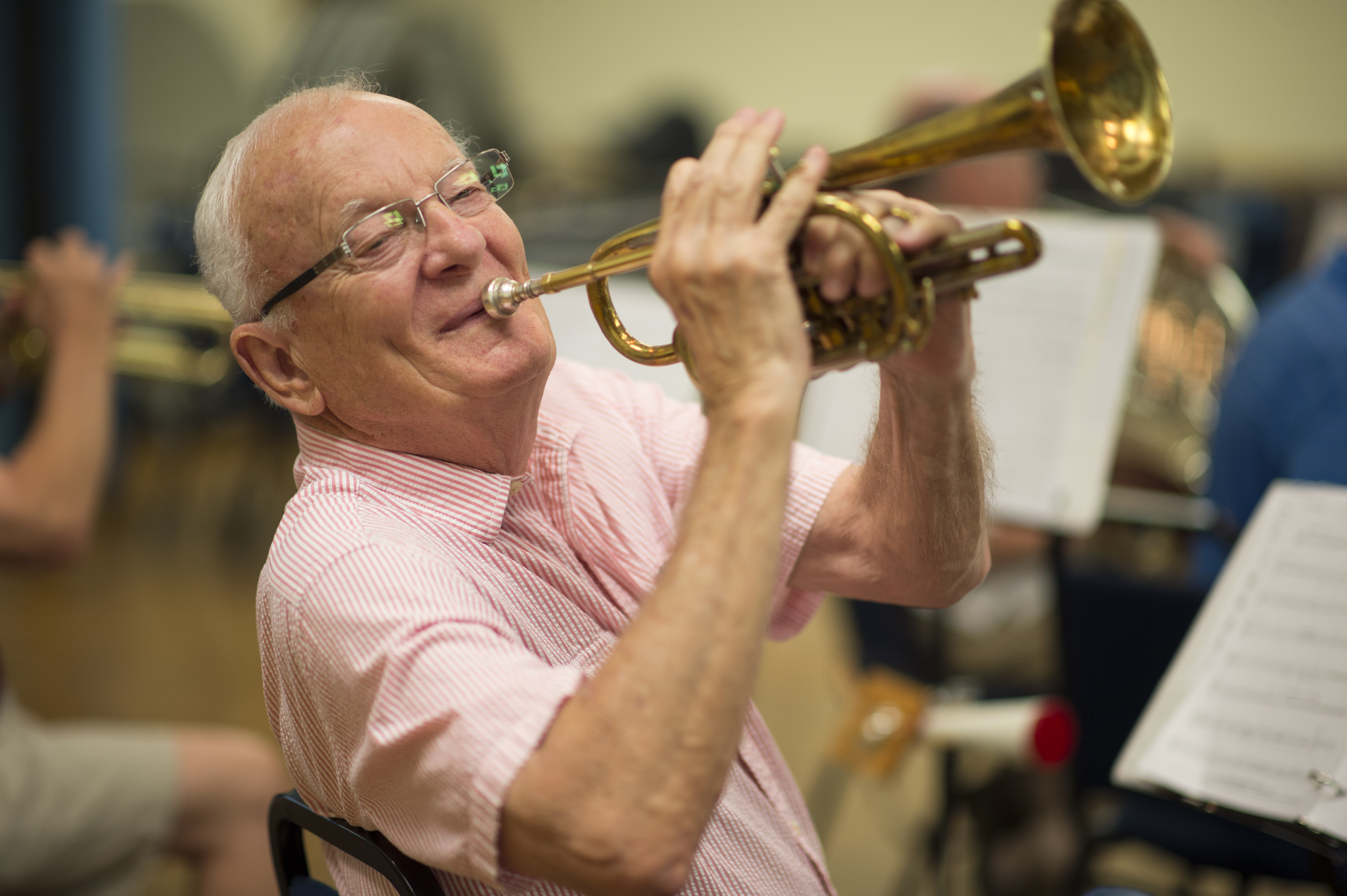 For 20 years, Denton's New Horizons Band has helped North Texas seniors get in tune with their musical talents