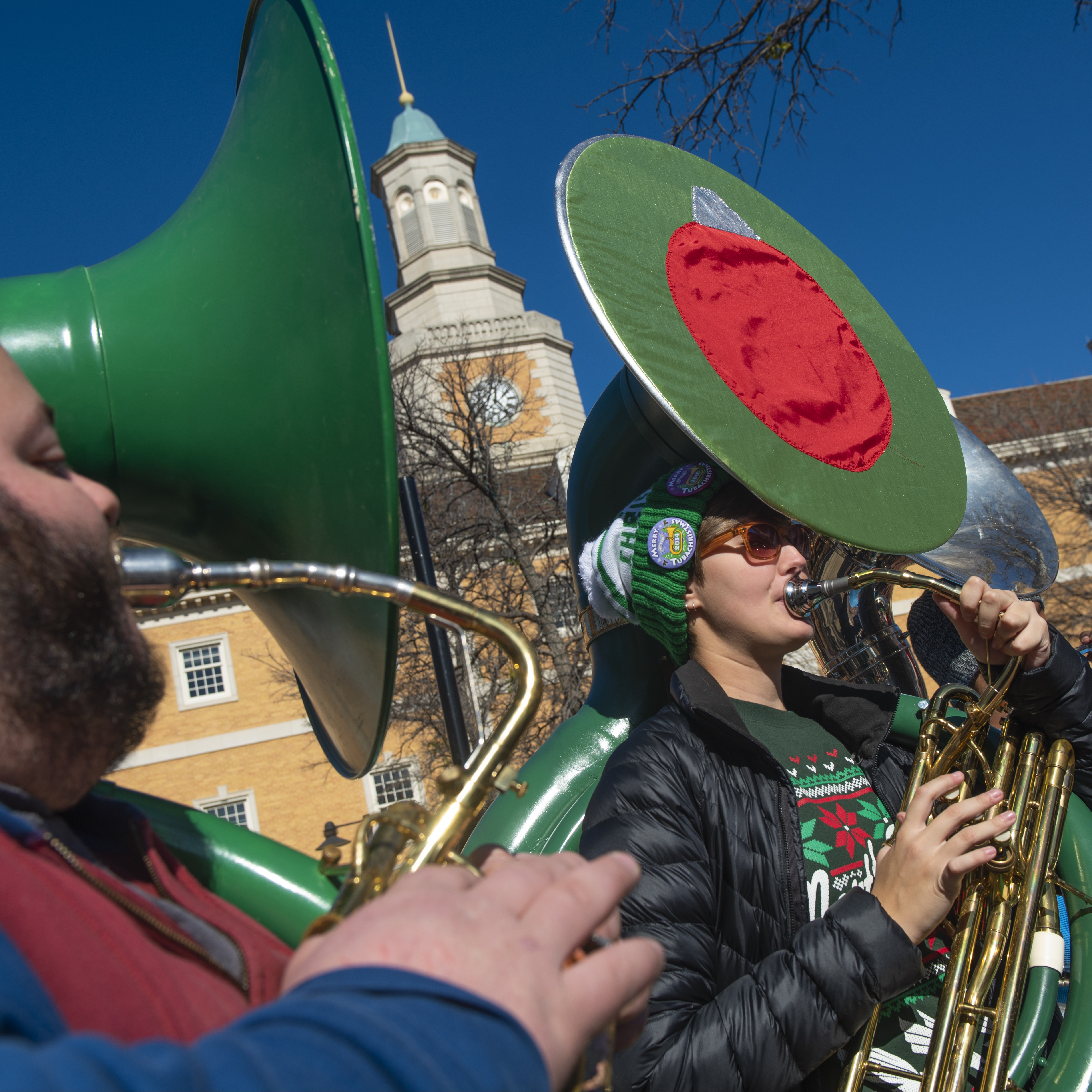 UNT College of Music presents a TUBACHRISTMAS