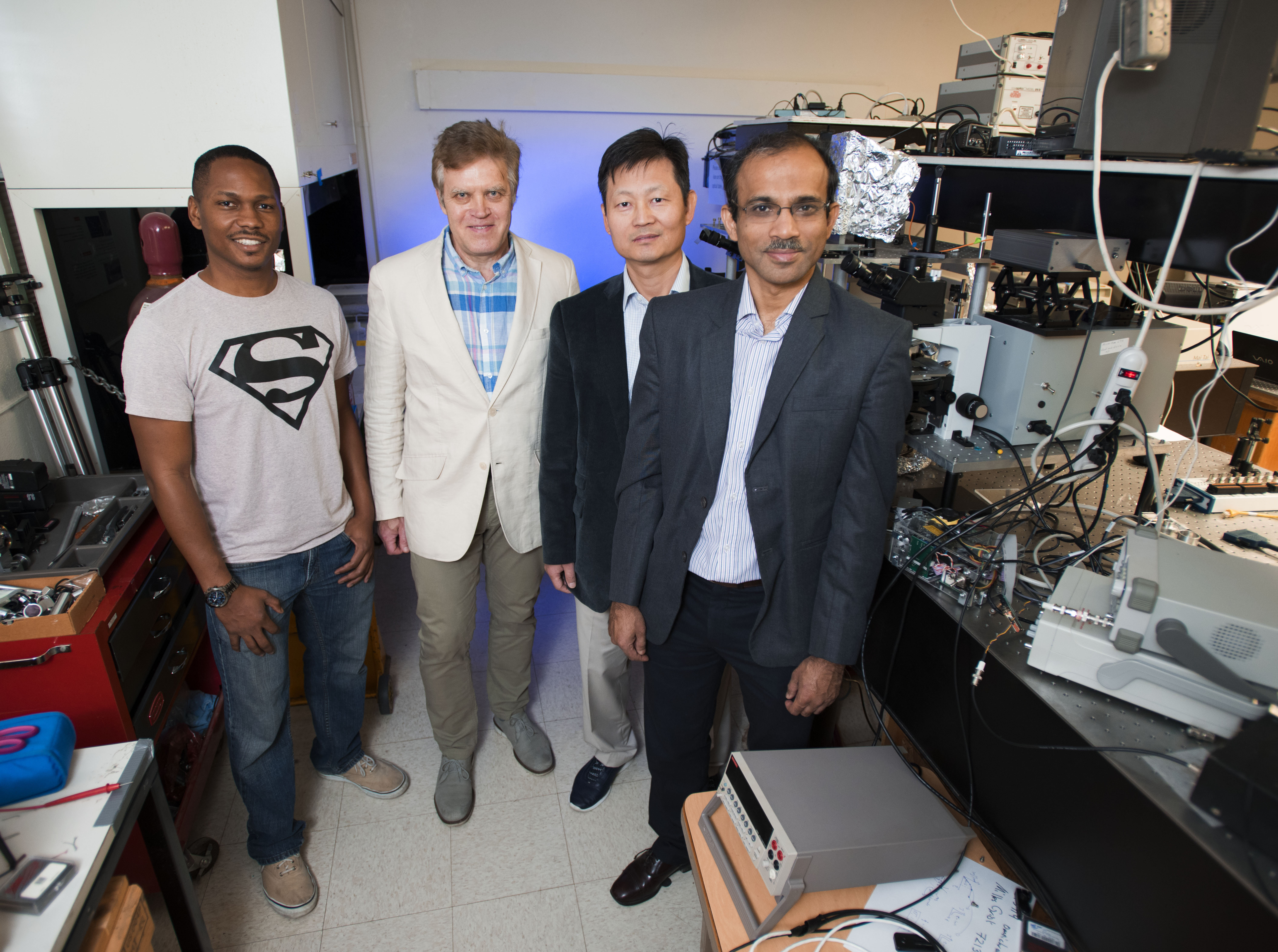 UNT awarded almost $2 million in NSF funding to study the rules of physics