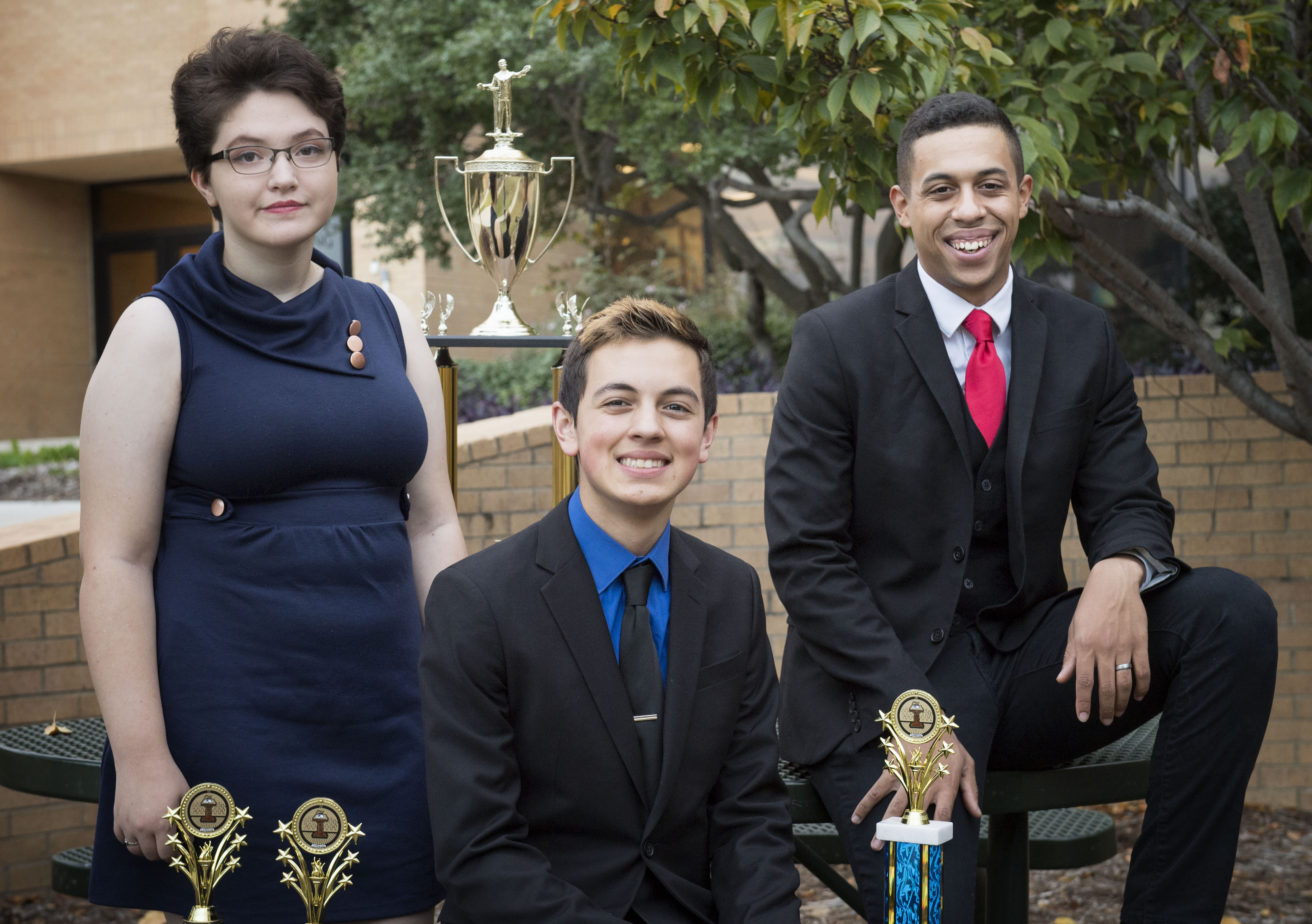 UNT debaters take top prize, win three divisions at Texas Intercollegiate Forensic Association Championship