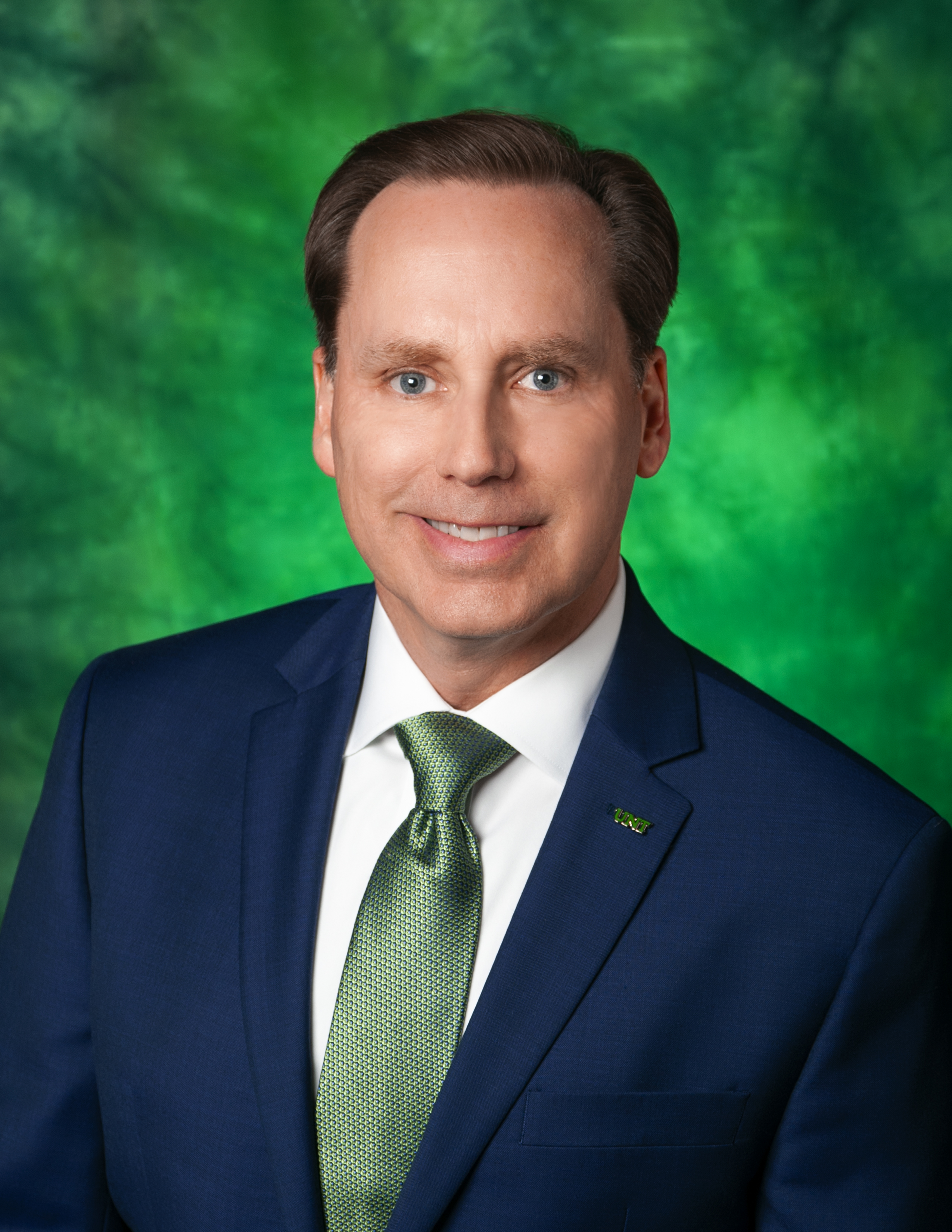 James Berscheidt, UNT vice president for marketing and communications