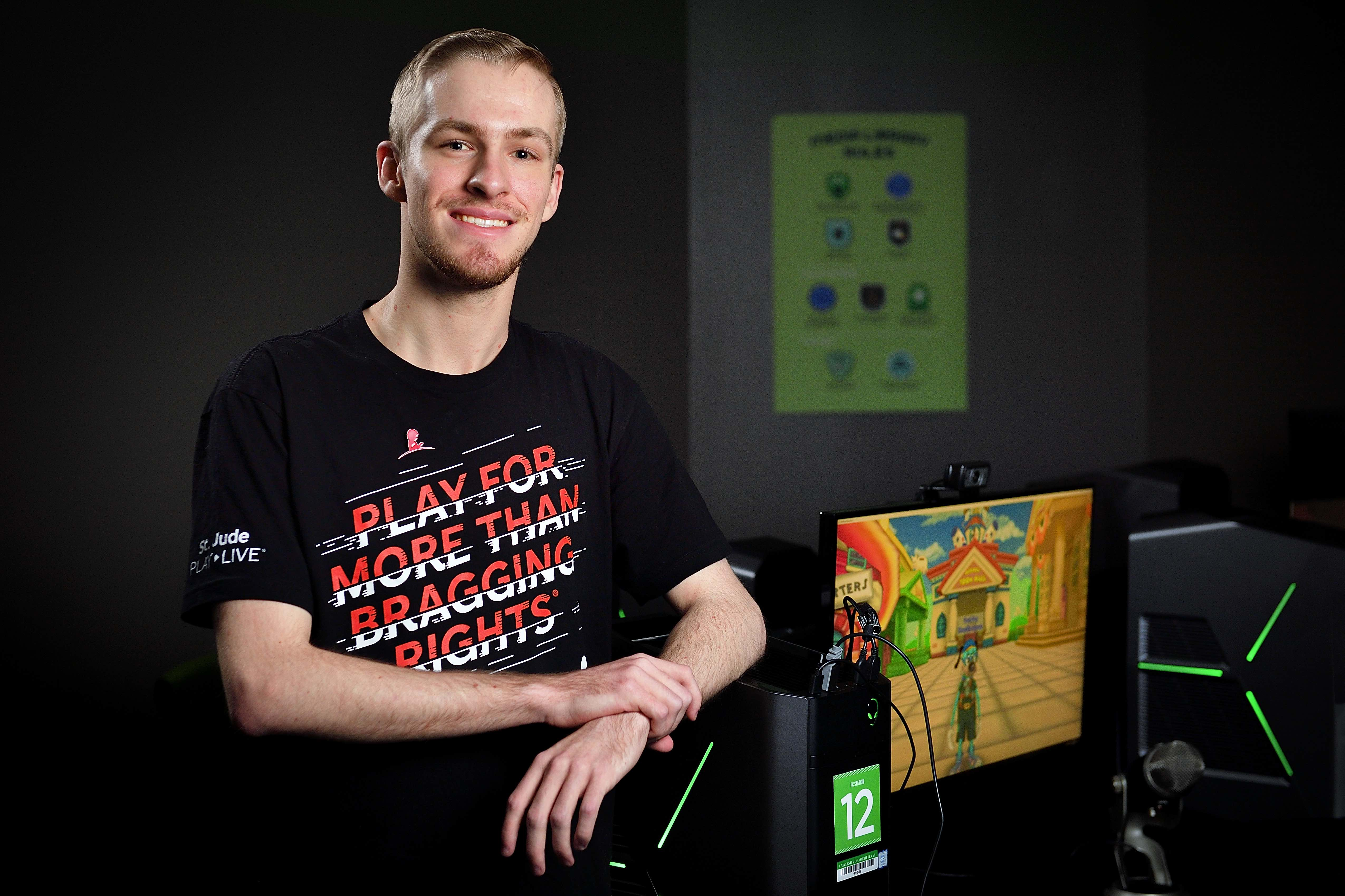 Video gaming for charity