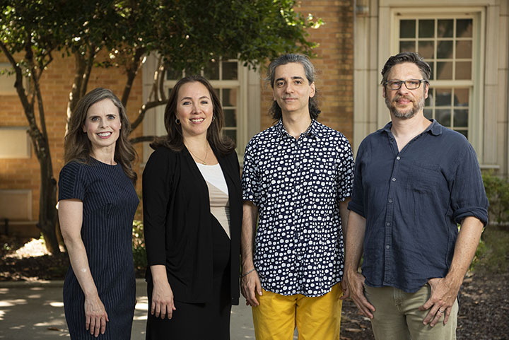 Four UNT professors to pursue creative research thanks to IAA fellowship