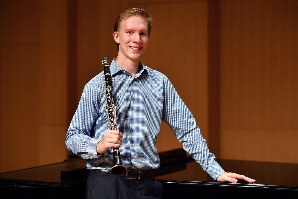 UNT music student wins international clarinet competition