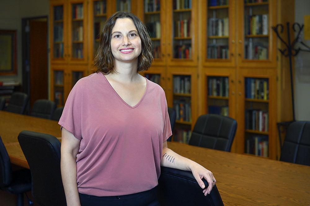 UNT assistant history professor Rachel Louise Moran