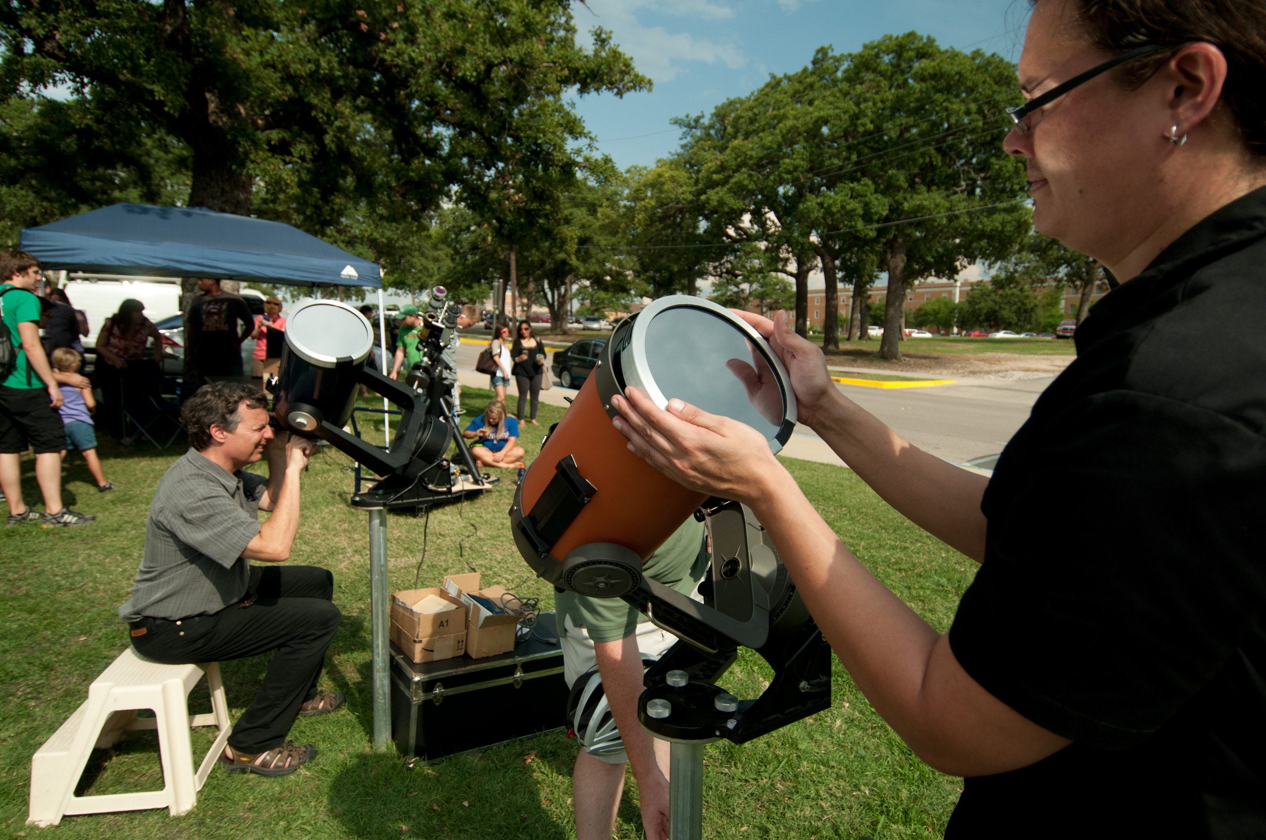 Rare space event can be seen using UNT's high-powered telescopes on May 9