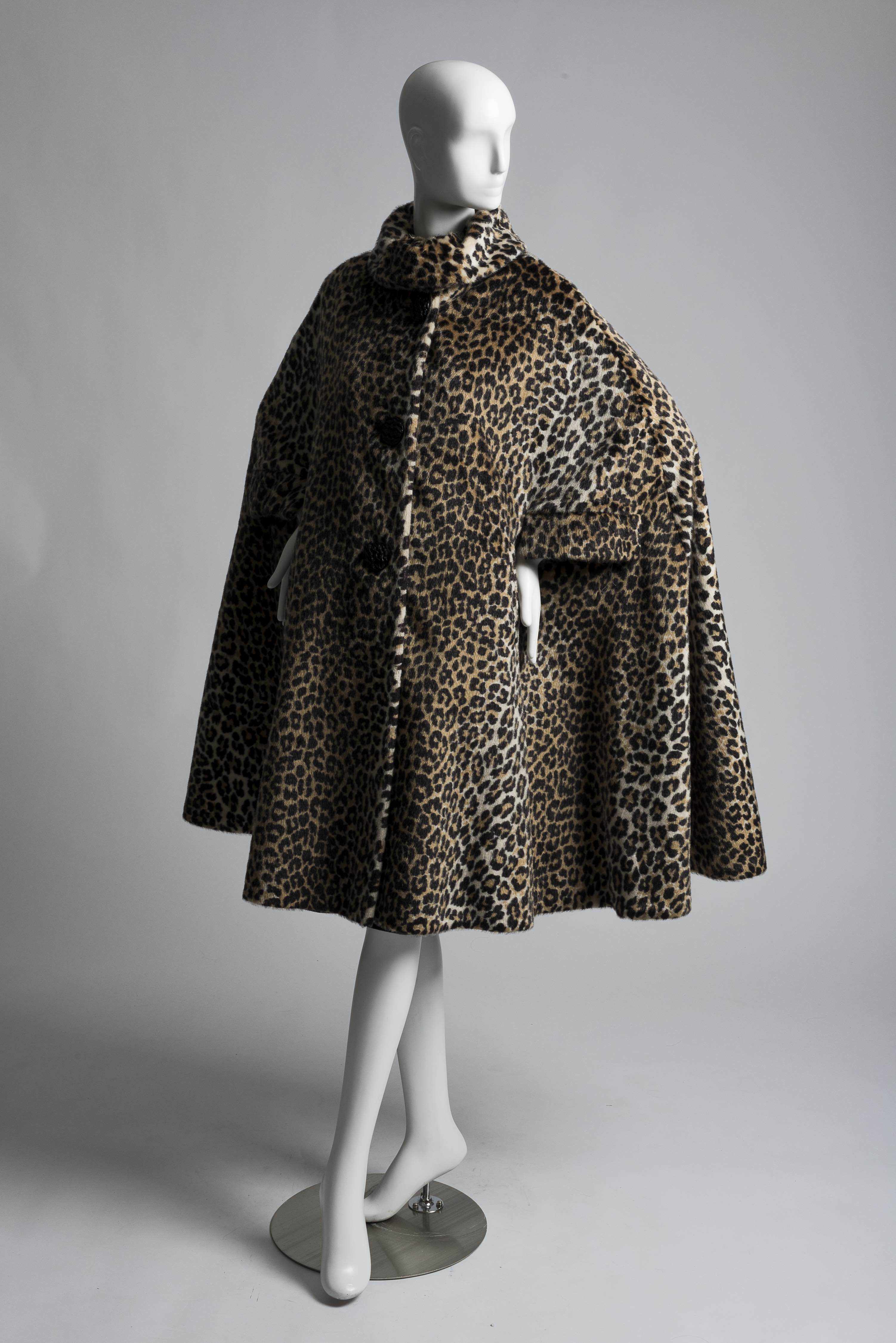 Ranging from early faux fur capes to contemporary ensembles recreating natural motifs, the featured garments connect our clothing to the world around us.