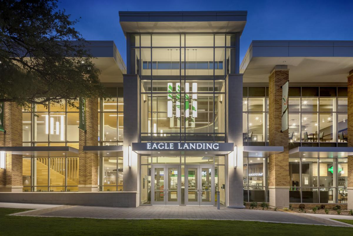 UNT brings food hall dining experience to campus with Eagle Landing
