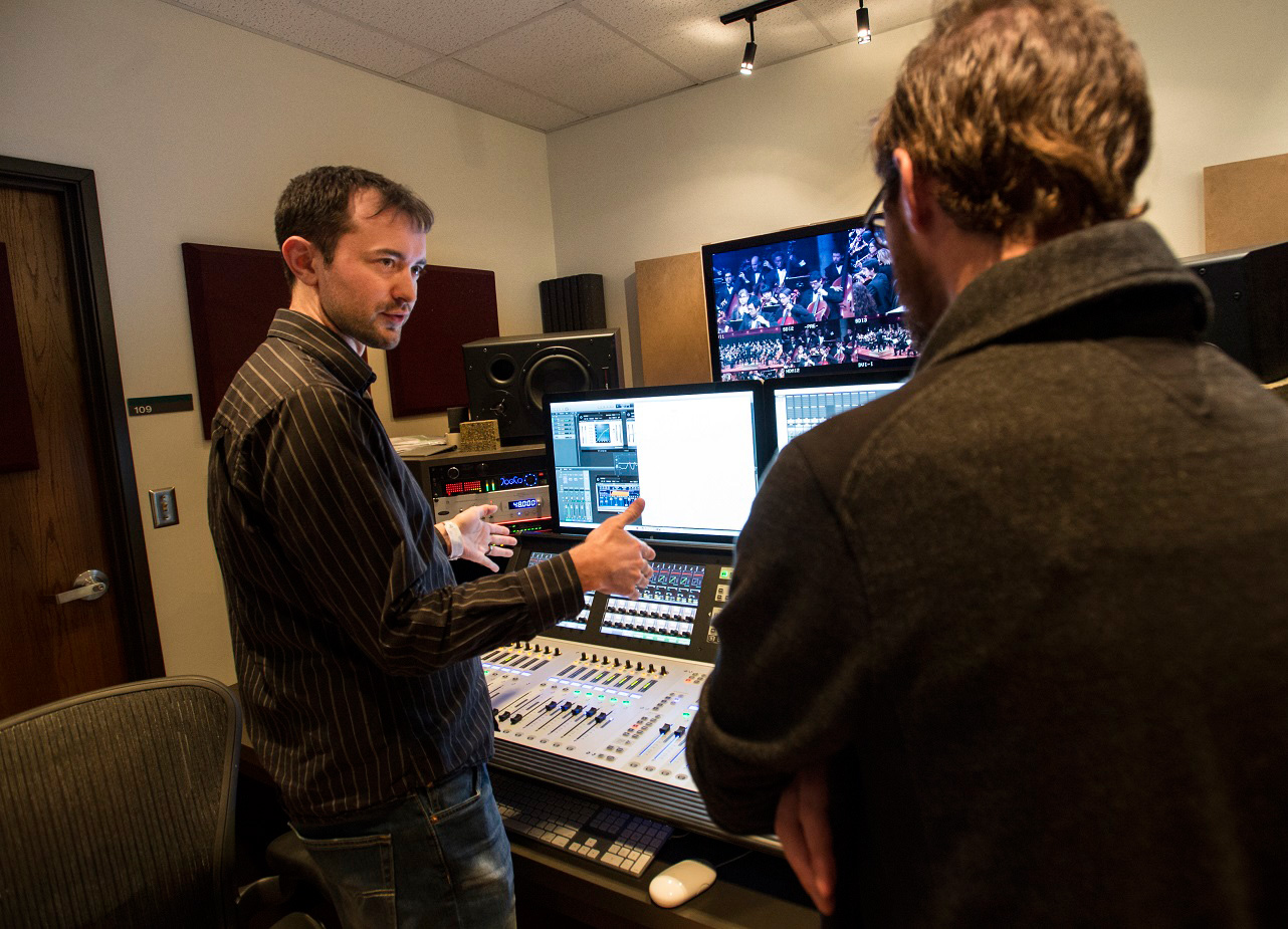 Live streaming of UNT College of Music performances big job