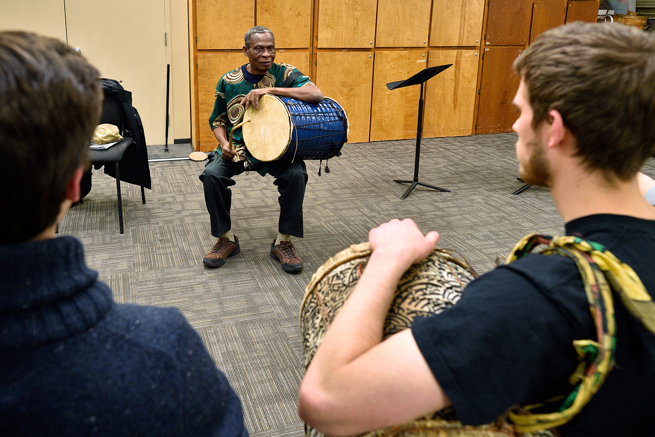 Research by UNT College of Music professor to study language, preserve history of West African ritual songs