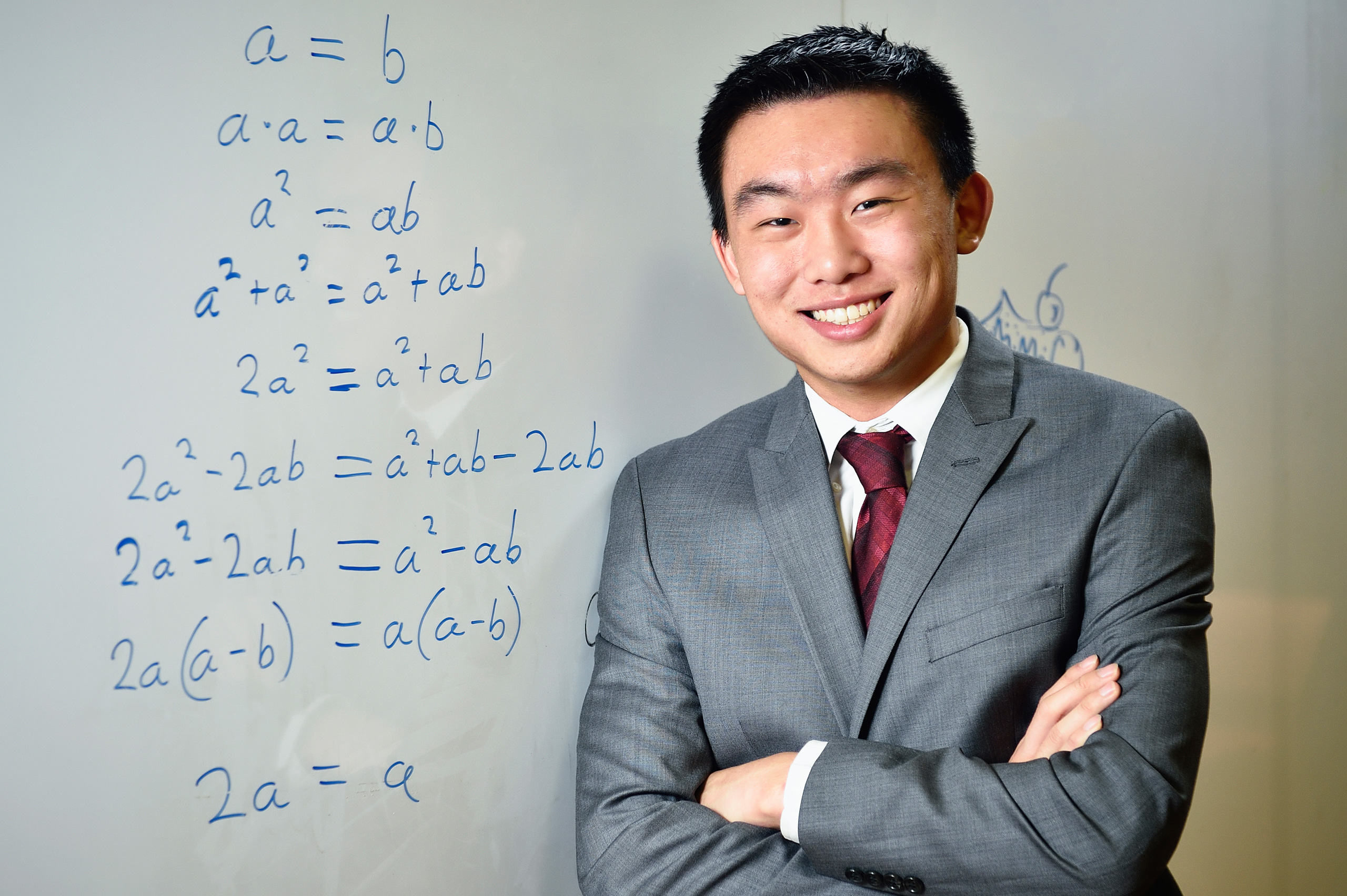 Jack Zhang, second-year UNT TAMS student.
