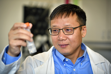 UNT professor's discovery helps to provide safer nuclear waste containment in the future