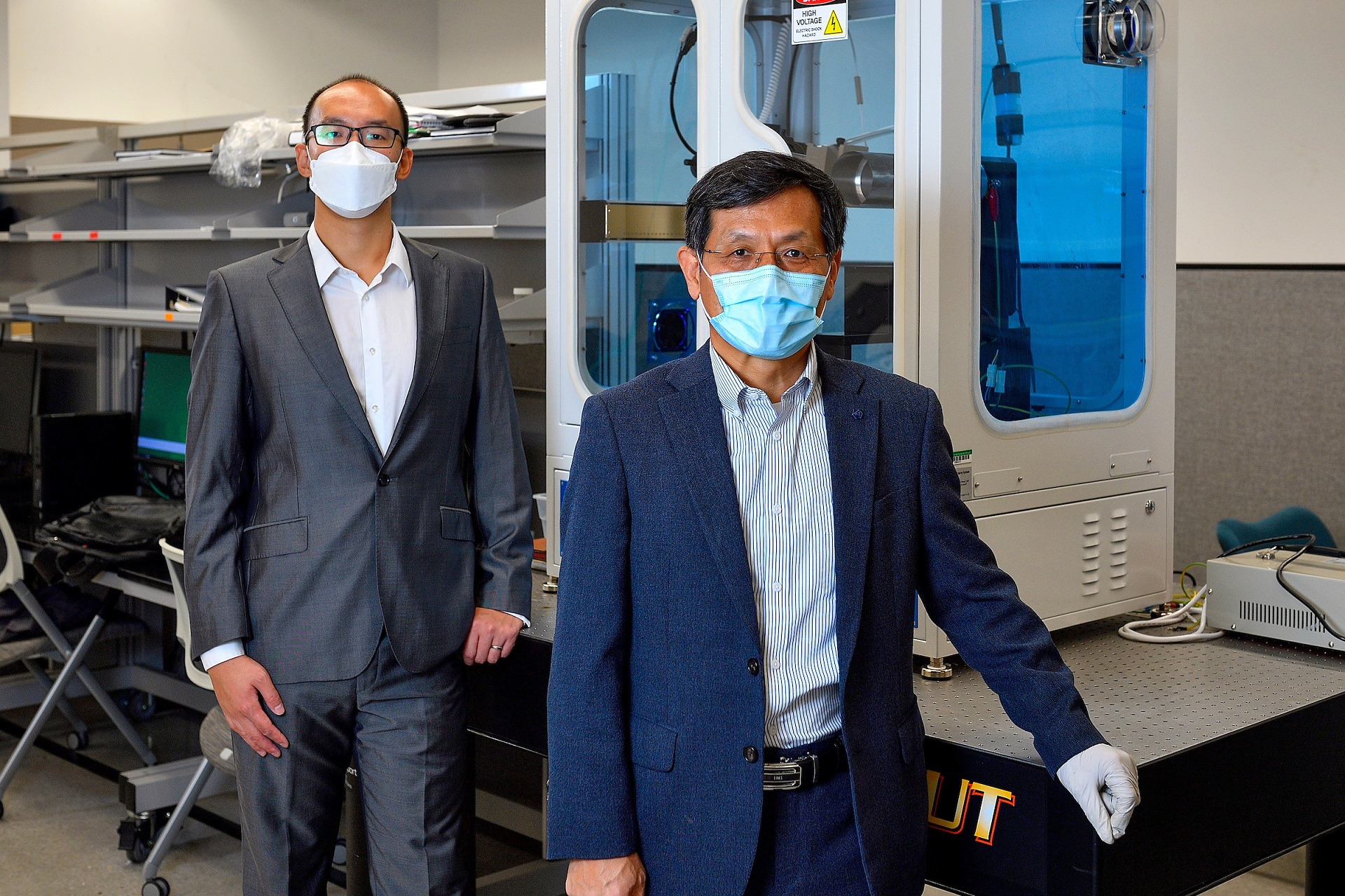 Principal investigators Wonbong Choi and Yijie Jiang will research the fabrication of a lightweight,