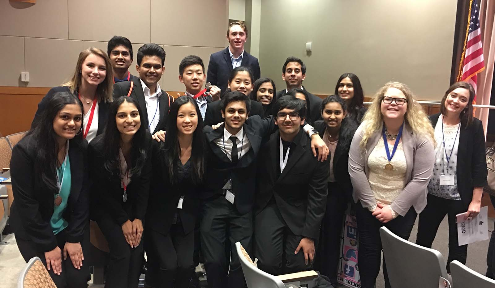 Several members of the UNT DECA team have qualified for the 2017 Collegiate DECA International Career Development Conference.