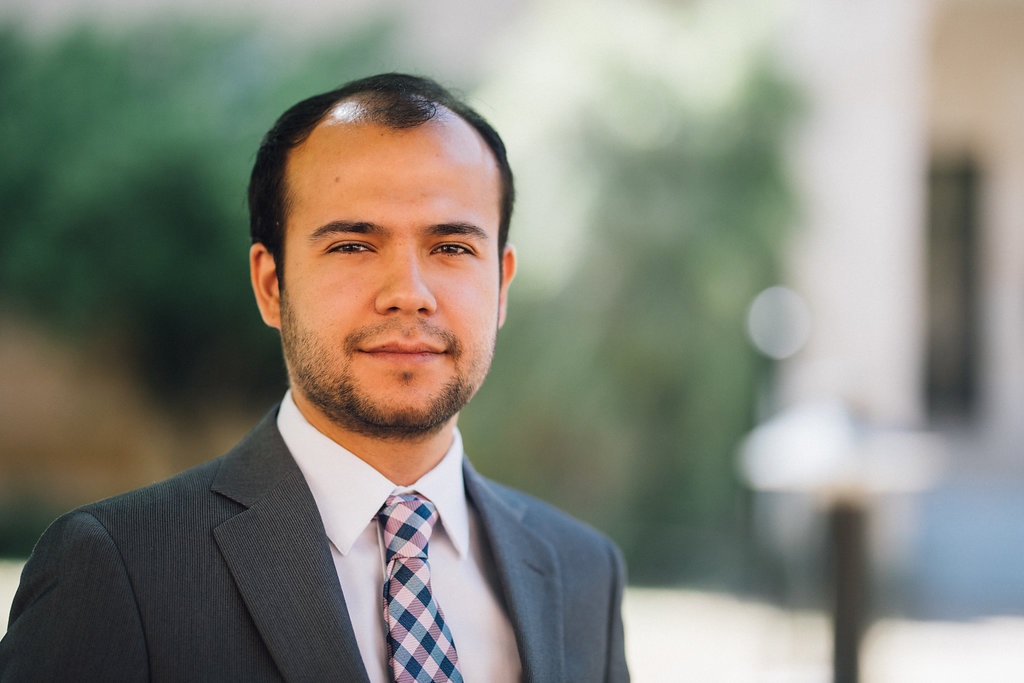 Daniel Pinilla, UNT College of Music performance and jazz studies doctoral stude