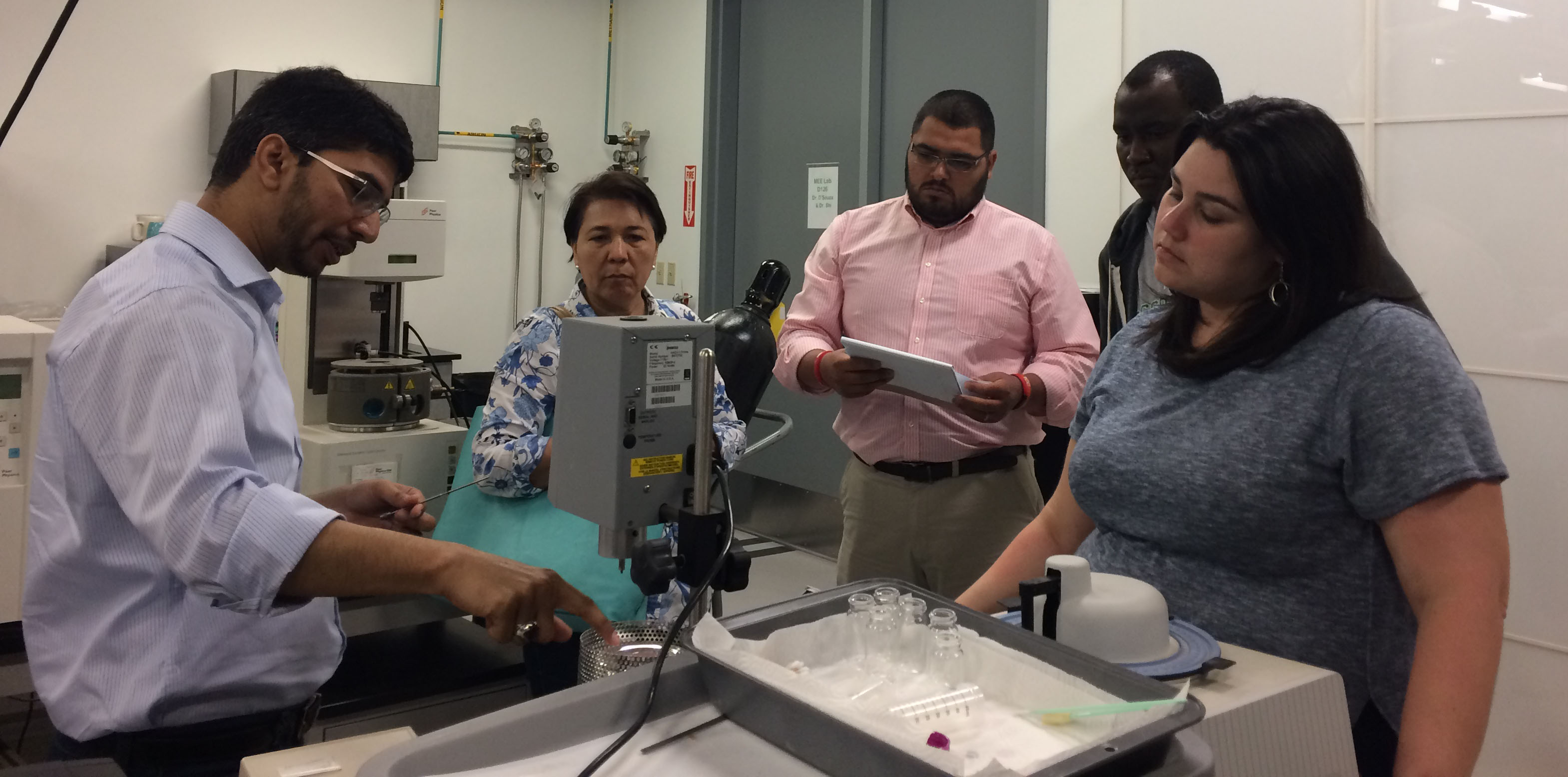 UNT offers local teachers summer science institute
