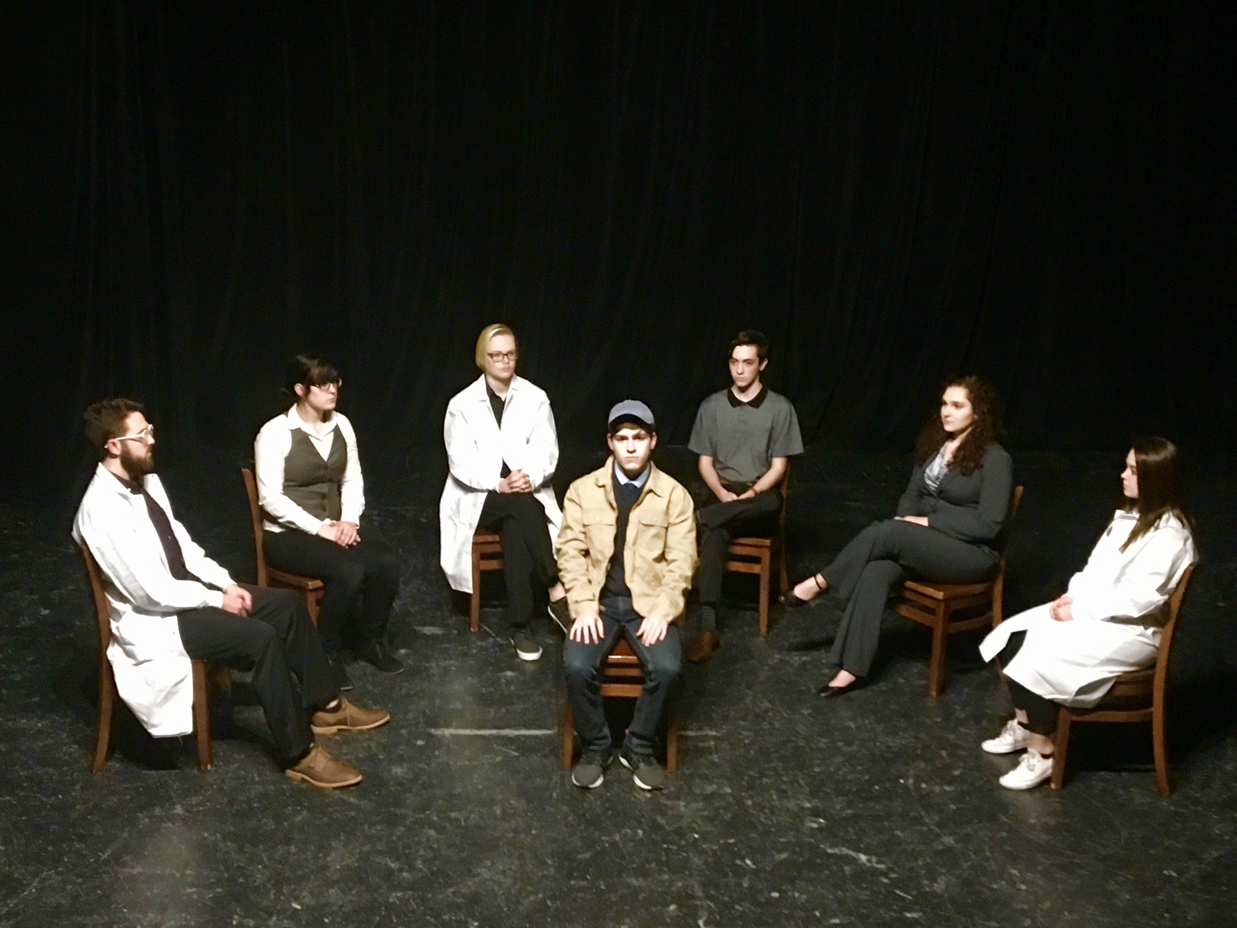 "Student director adds unique twist to UNT's production of ""Flowers for Algernon"""