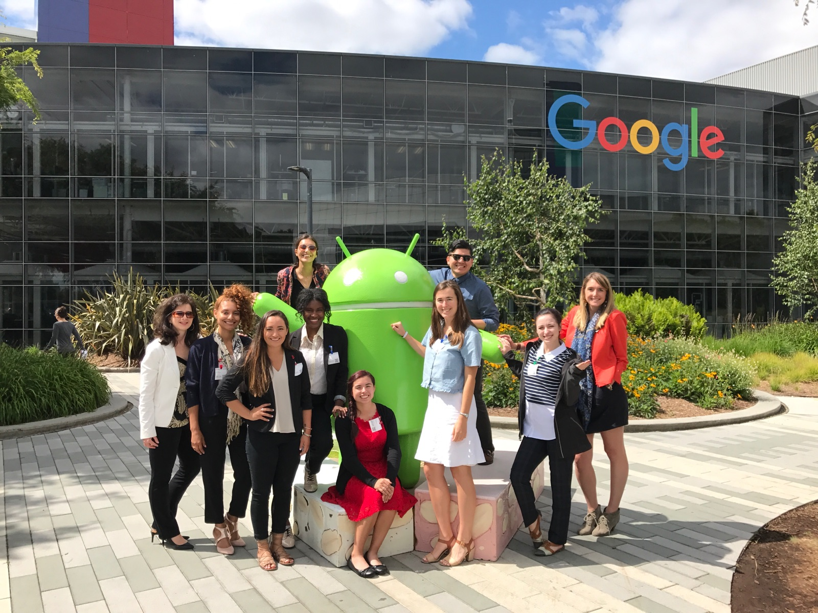 Google, Facebook, Amazon headquarters give UNT students peek at digital operations