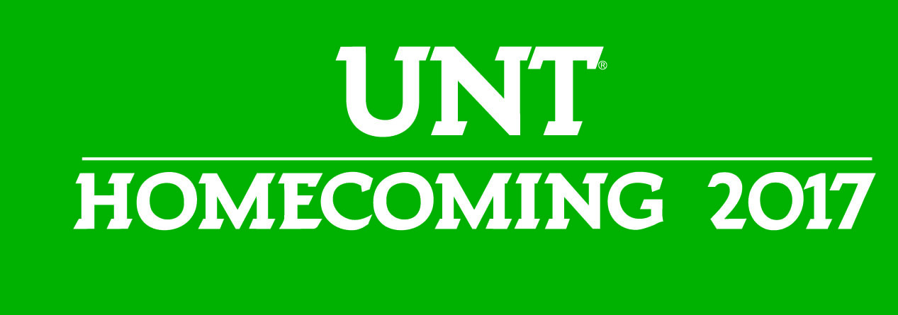 UNT Homecoming 2017 logo
