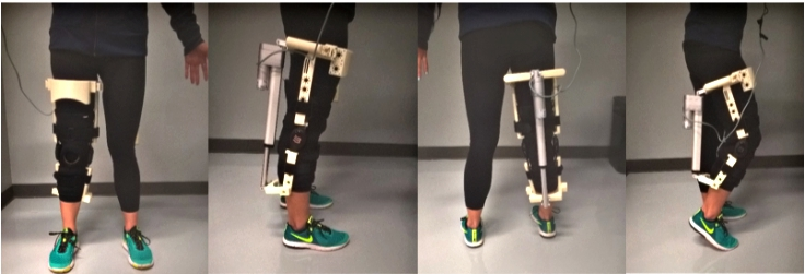 UNT student creates device aimed at helping those with arthritic knees walk easier