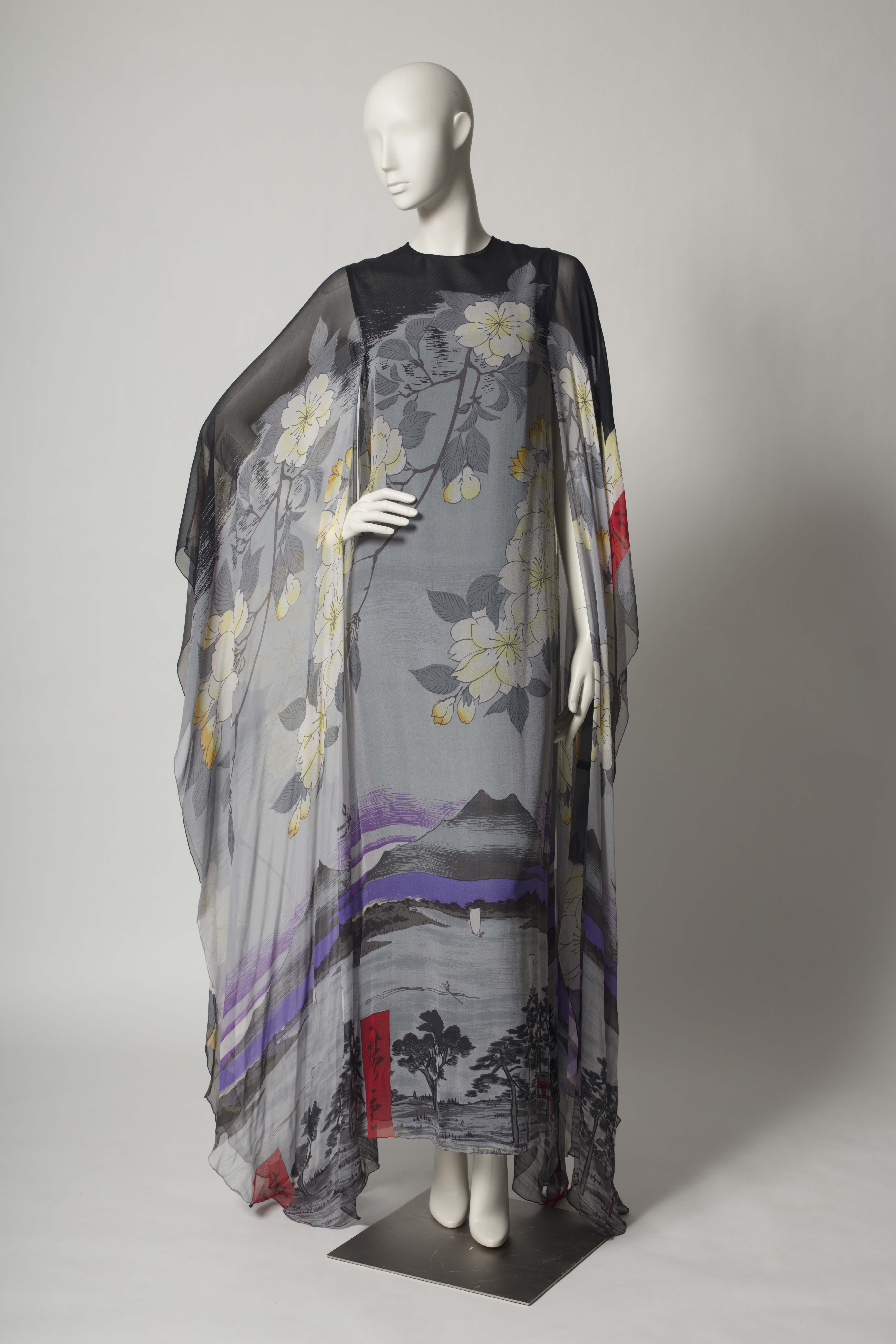 "The exhibition ""Reimagining the Kimono,"" presented by the Texas Fashion Collecti"