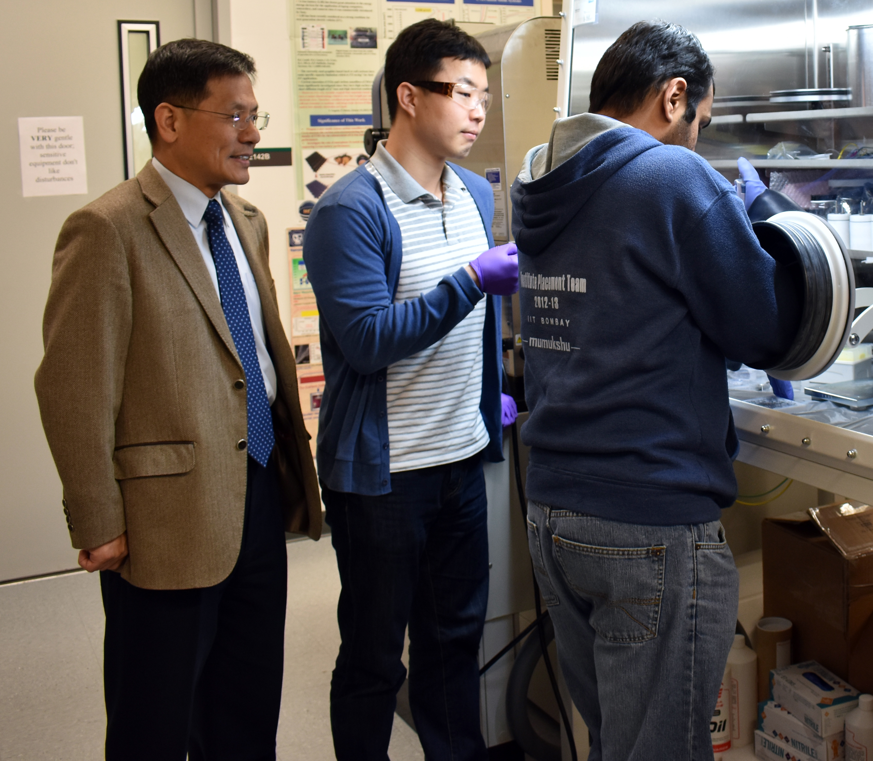 University of North Texas researchers in the College of Engineering's Department of Materials Science and Engineering have created a uniform, thin, two-dimensional material that could revolutionize materials science.