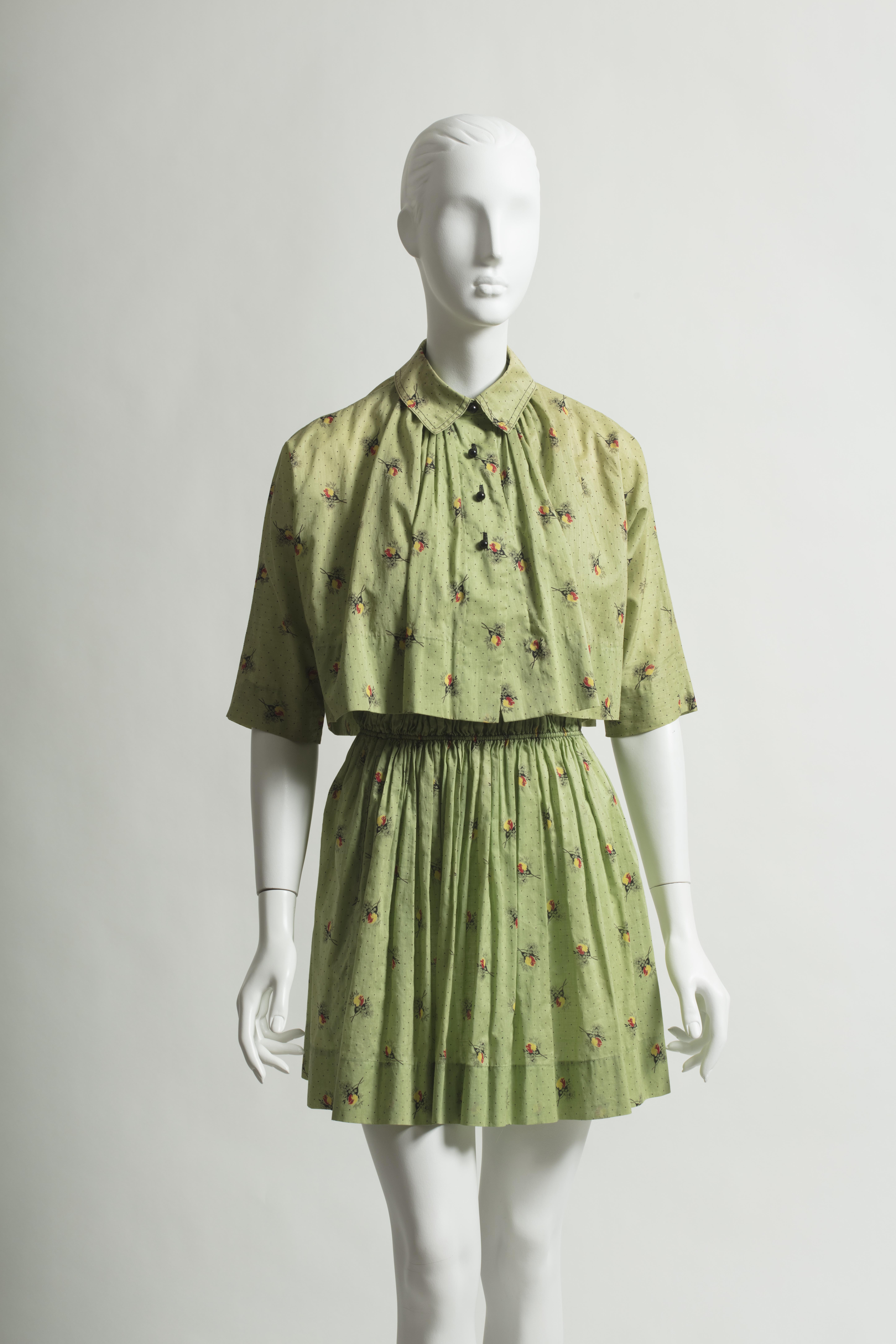 This 1940s Claire McCardell outfit will be on display in Sportswear to Athleisure: The Creation of Comfortable Clothing, an exhibition from the University of North Texas' Texas Fashion Collection running from Sept. 8 (Friday) to Dec. 8 (Friday) at UNT ArtSpace Dallas.