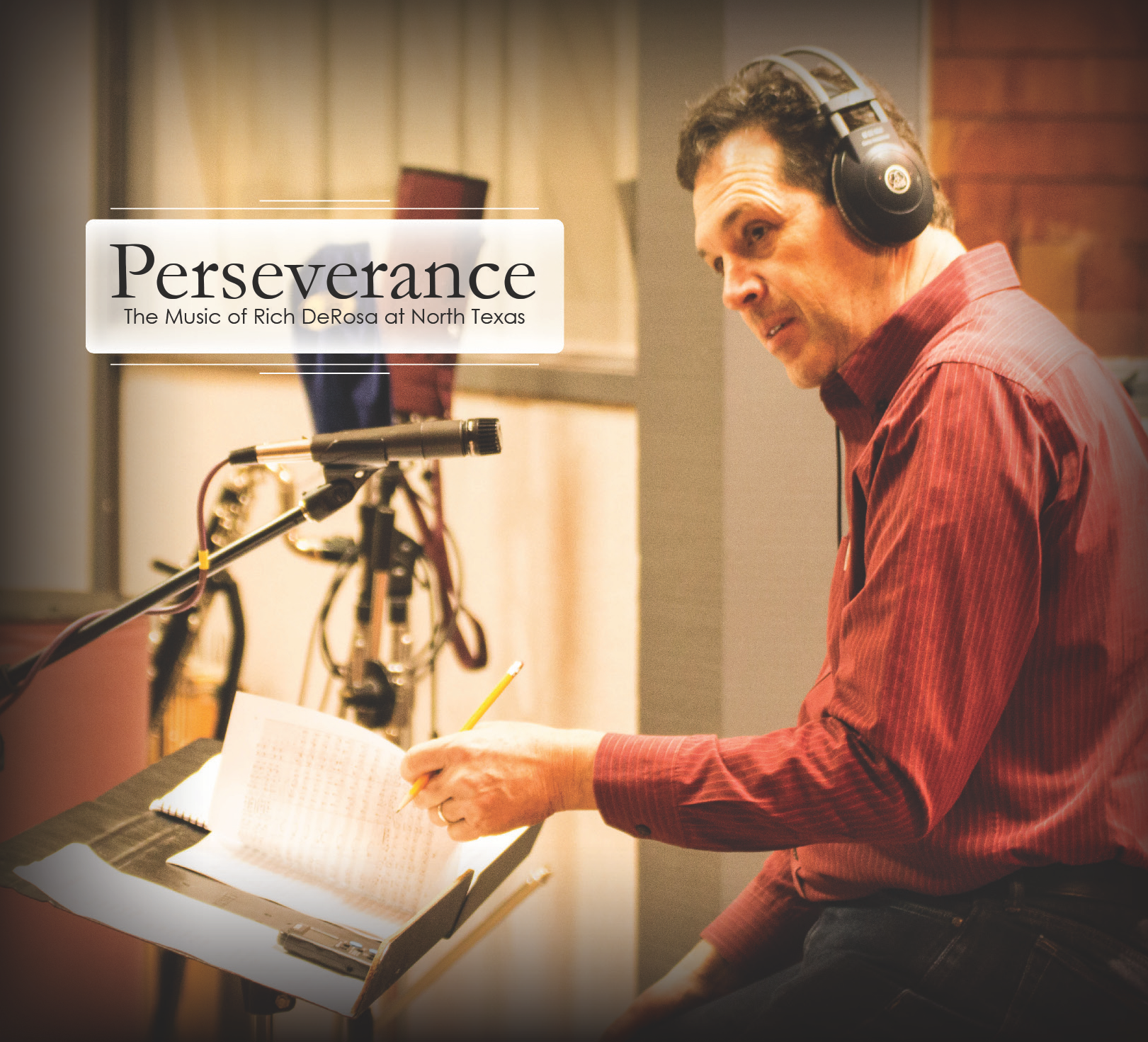 Perseverance — The Music of Rich DeRosa at North Texas is one of several CDs bei