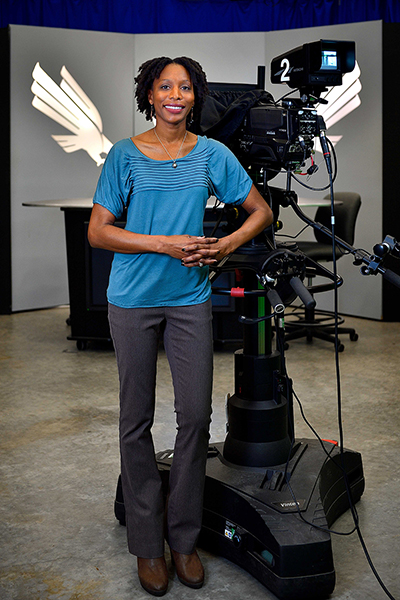 Carla Carter-Bishop is a lecturer in UNT's Department of Media Arts.