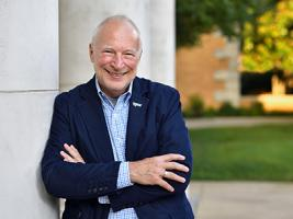 UNT VP of Research and Innovation talks food, hunger and a decade on the selection committee for the World Food Prize