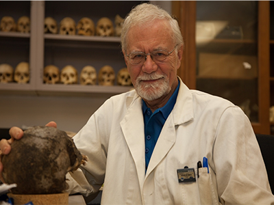 UNT forensic anthropology professor recognized for outstanding contributions to the field