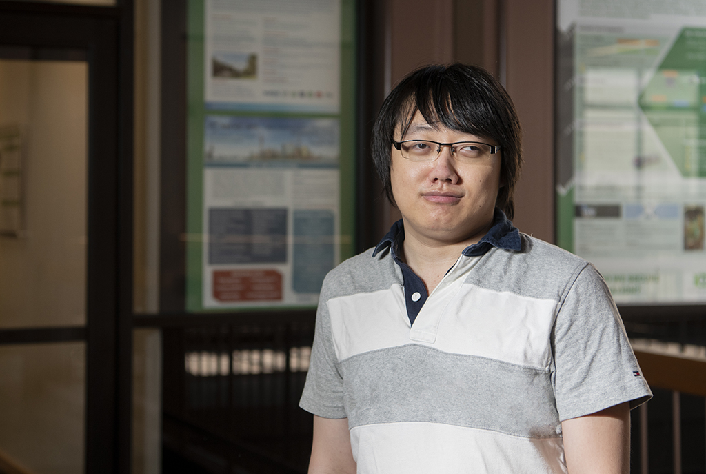 Hua Sun, assistant professor in the UNT Department of Electrical Engineering