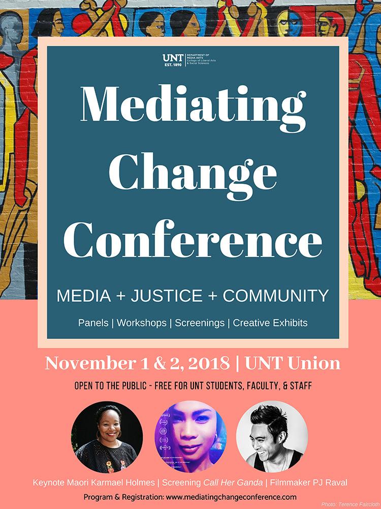 Meditating Change Conference poster