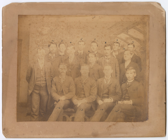 UNT Libraries acquires photo of university's earliest students