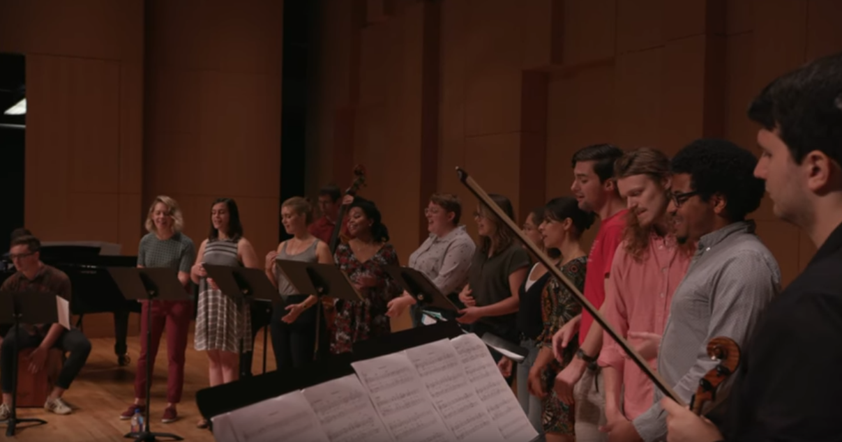 UNT College of Music releases an original arrangement and music video honoring Mahatma Gandhi