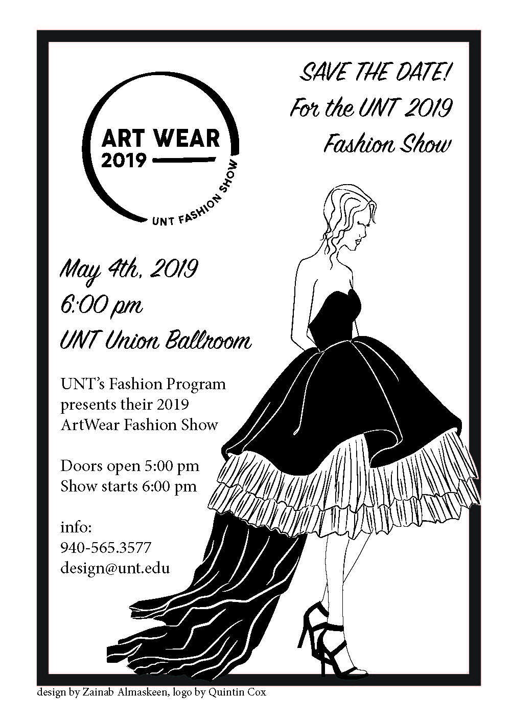 ArtWear 2019 features runway creations from  UNT senior fashion design students