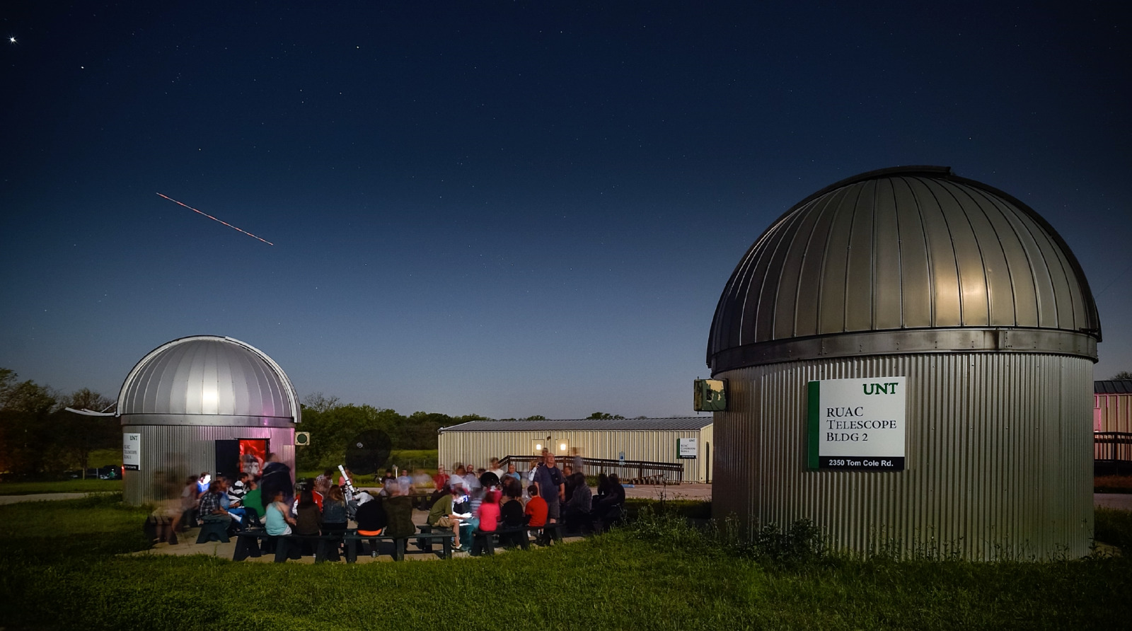 Come see the falling stars at UNT's Rafes Urban Astronomy Center