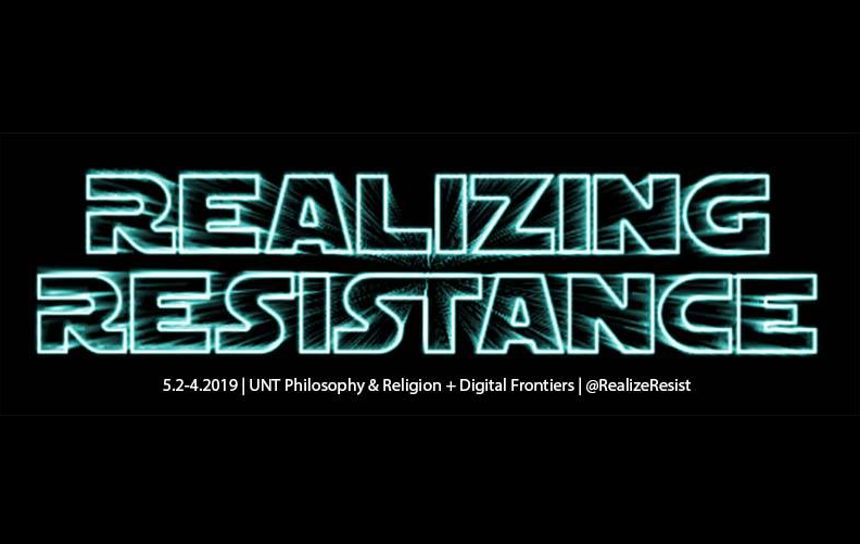 Realizing Resistance will be held May 2-4.