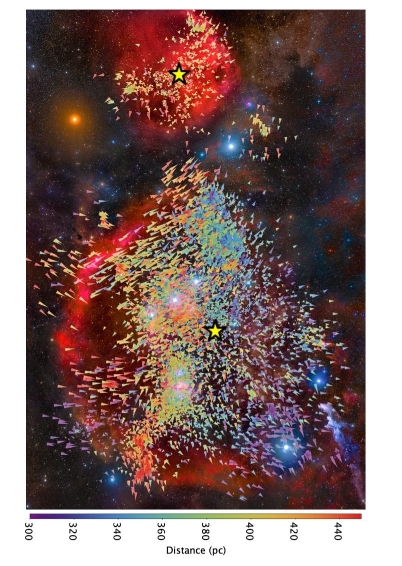 Graph of star turbulence courtesy of Marina Kounkel postdoctoral scholar at Western Washington Unive