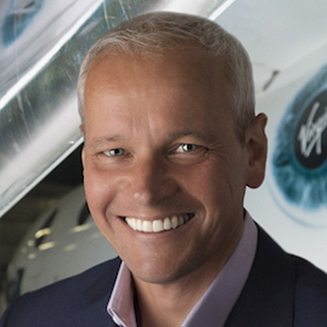Stephen Attenborough of Virgin Galactic