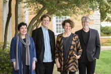 Four University of North Texas professors will receive time to work on personal projects – ranging from writing poetry to creating a virtual reality program – after receiving an Institute for the Advancement of the Arts fellowship.