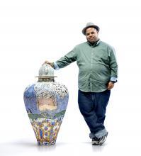 Roberto Lugo, activist, poet, educator and self-proclaimed ghetto potter. Photo