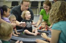 University of North Texas' Early Childhood Music program offers music classes fo