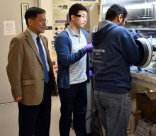University of North Texas researchers in the College of Engineering's Department