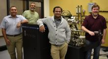 Researchers in the University of North Texas College of Engineering's Department