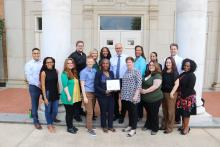 """The University of North Texas has received the 2018 Higher Education Excellence in Diversity (HEED) Award from """"INSIGHT Into Diversity"""" magazine."""