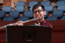 UNT flutist Martin Godoy wins Myrna Brown Flute Competition
