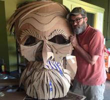 Emmy Award winning puppeteer Wayne White comes to UNT