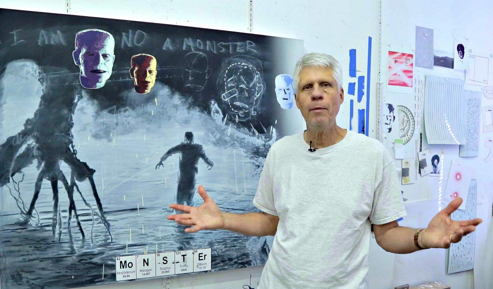 UNT exhibition features the complex works of Vernon Fisher