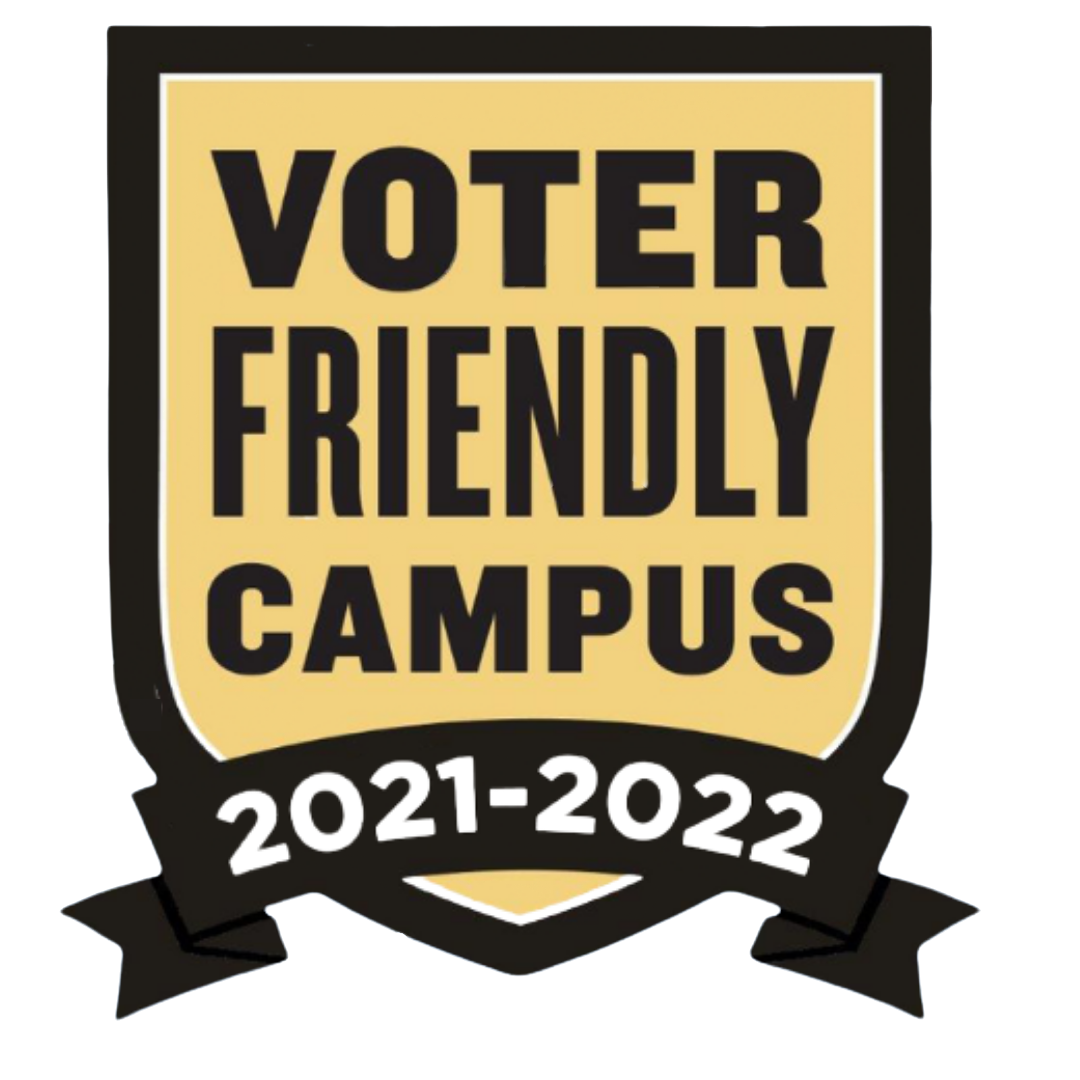 UNT recognized for 'voter friendly' efforts to increase student voter registration, participation